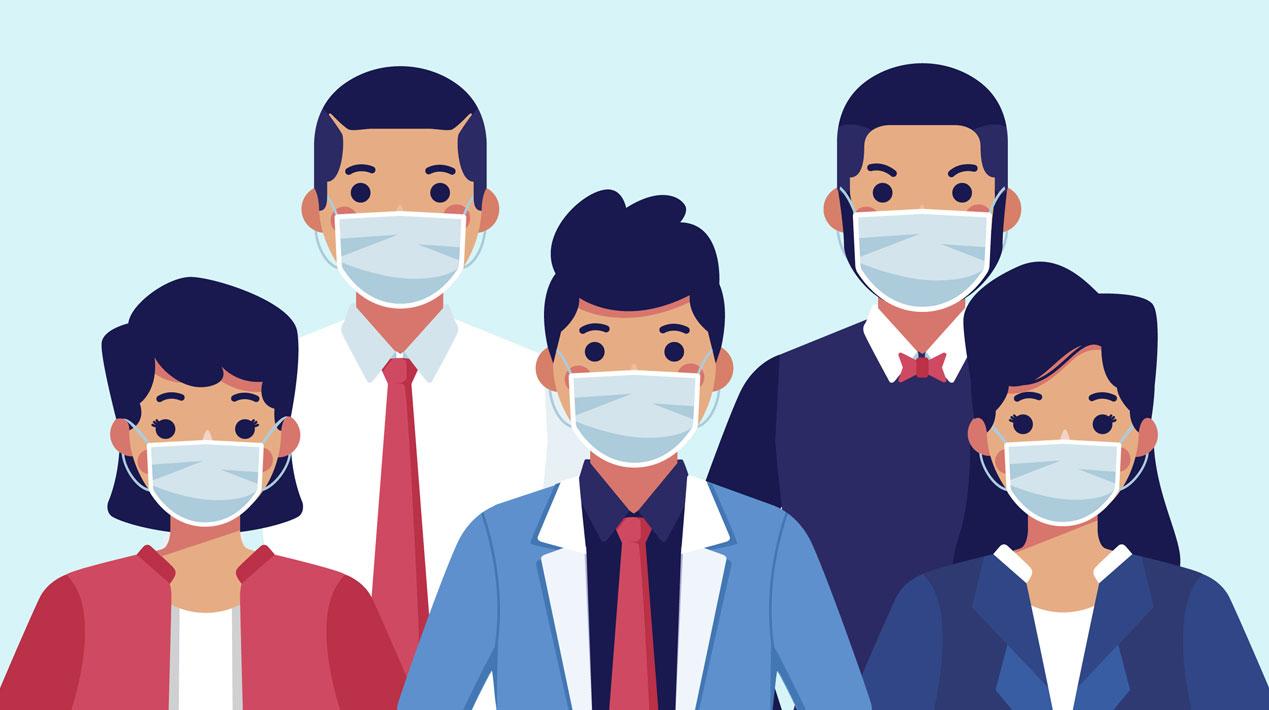 При посещении клиники соблюдайте масочный режим